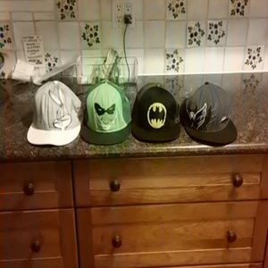 4 Funny Baseball Hats